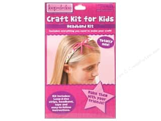 Leisure Arts Kit Loop-D-Doo Headband