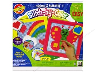 Holiday Gift Ideas Sale Colorbok $0-$10: Colorbok Arts &amp; Crafts Stitch By Color NdlpntSewng