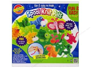 Colorbok Arts &amp; Crafts Spool Knit Critters