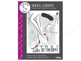 Brazabra Corp Sight Enhancers & Body Therapeutics: Braza Talk To The Heel Heel Grips 2 pc.
