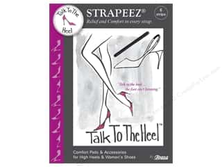 Brazabra Corp Sight Enhancers & Body Therapeutics: Braza Talk To The Heel Strapeez 6 pc.
