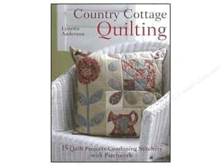 needlework book: Country Cottage Quilting Book