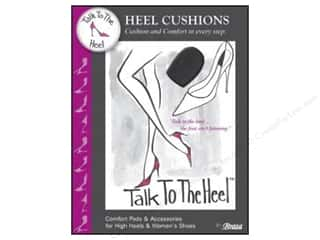 Brazabra Corp: Braza Talk To The Heel Heel Cushions 2 pc.