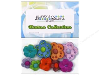 Flowers Buttons: Buttons Galore Theme Buttons Bouquet Beauties