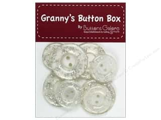button: Buttons Galore Grannys Button Glitter Ice