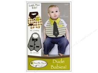 Baby Patterns: Vanilla House Dude Babies Bibs Pattern