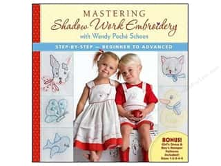needlework book: Martha Pullen Publishing Mastering Shadow Work Embroidery Book