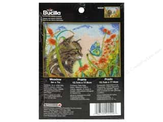 Bucilla Cross Stitch Kit Count 5x7 Meadow