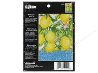 Weekly Specials Bucilla Beginner Cross Stitch Kit: Bucilla Counted Cross Stitch Kit 5 x 7 in. Welcome