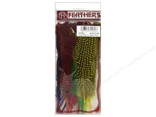 Guinea feather: Zucker Feather Guinea Hen Rounds Assorted 25pc
