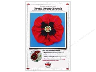 Proud Poppy Brooch Pattern