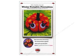 Winky Pumpkin Pincushion Pattern