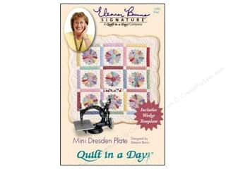 Quilt in a Day Quilting: Quilt In A Day Mini Dresden Plate Pattern & Template