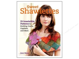 Yarn, Knitting, Crochet & Plastic Canvas: Taunton Press Sweet Shawlettes Book