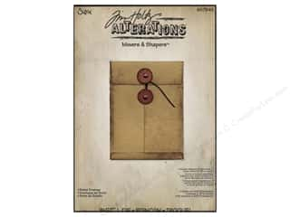 Dies: Sizzix Movers & Shapers L Die Pocket Envelope by Tim Holtz