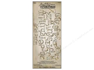 Sizzix Bigz XL Alphabet Die Word Play by Tim Holtz