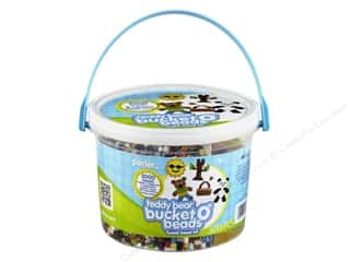 Teddy Bears Crafting Kits: Perler Bucket o' Beads Teddy Bear