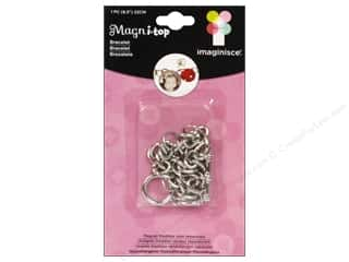 Jewelry Making Supplies Epiphany Accessories: Imaginisce i-top Magni-Top Bracelet Silver
