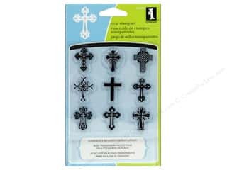 Inkadinkado Clear Stamp Inchie Bundle Crosses