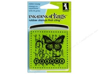 Inkadinkado Cling Stamp Mini: Inkadinkado Inkadinkaclings Stamp Mini Thanks