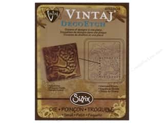 Sizzix Die Vintaj DecoEtch Mermaid Waves