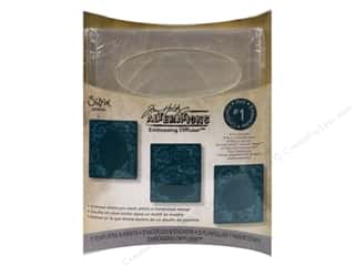 Embossing Aids Clear: Sizzix Accessory Embossing Diffuser 3PK Set #1 by Tim Holtz