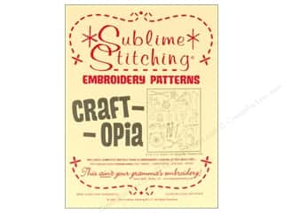 Sublime Stitching: Sublime Stitching Embroidery Transfers Craftopia