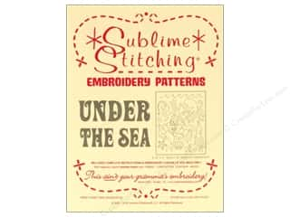 Sublime Stitching Embroidery Transfers Under The Sea
