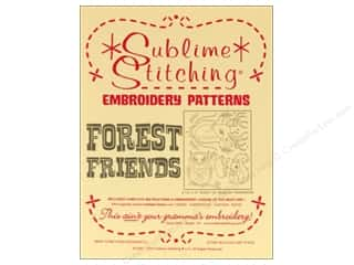 Sublime Stitching Embroidery Transfers Forest Friends