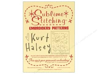 Transfers New: Sublime Stitching Embroidery Transfers Kurt Halsey