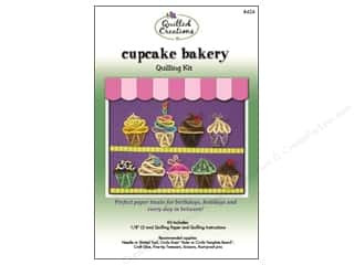 Projects & Kits MAMBI Kit Scrapbook: Quilled Creations Quilling Kit Cupcake Bakery