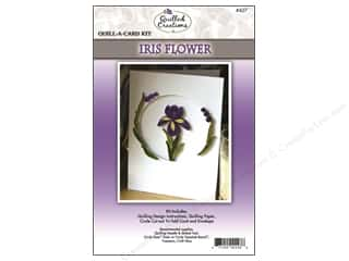 Quilled Creations Kit Quill-A-Card Iris Flower