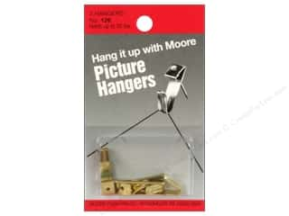 Moore: Moore Picture Hangers With Nail 30lb 3pc