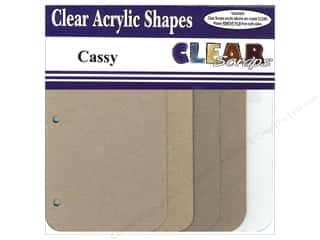 Photo Corners Clear: Clear Scraps Mixables Album 8 x 8 in. Cassy