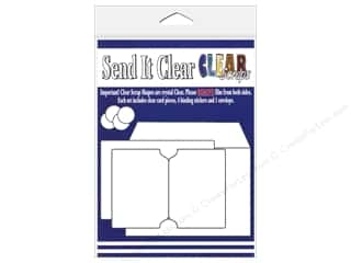 Paper Pieces Clear: Clear Scraps Send It Clear Card Belgrave