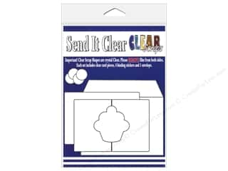 Paper Pieces Clear: Clear Scraps Send It Clear Card Cupcake