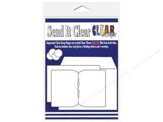 Paper Pieces Clear: Clear Scraps Send It Clear Card Deco