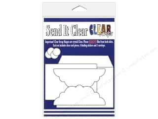 Clear Scraps Send It Clear Card Fancy