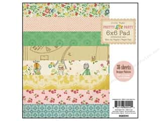 "Crate Paper Paper Pad 6""x 6"" Pretty Party"