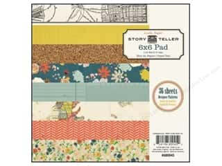 Crate Paper Paper Pad 6&quot;x 6&quot; Story Teller
