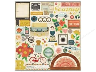 Crate Paper Stickers Story Teller Chipboard Accent