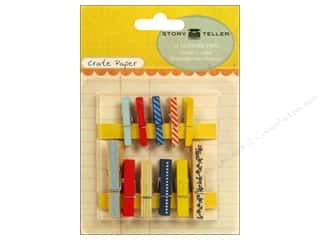 Crate Paper Story Teller Clothes Pins