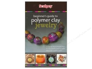 fall sale sculpey: Beginner's Guide To Polymer Clay Jewelry Book
