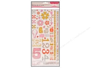 Cosmo Cricket Chipboard: Cosmo Cricket Sticker Ready Set Chip 2wenty Thr3e