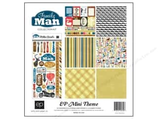 "Echo Park Collection Kit 12""x 12"" Family Man"