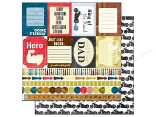Holiday Sale: Echo Park Paper 12x12 Family Man Manly Man (15 piece)