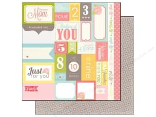 Mother's Day Clearance Crafts: Echo Park 12 x 12 in. Paper Dearest Collection Journaling Card (15 pieces)