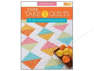 More Take 5 Quilts Book