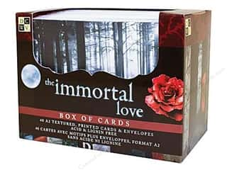 DieCuts Box of Cards A2 40pc Immortal Love