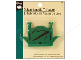 automatic needle threader: Deluxe Needle Threader by Dritz